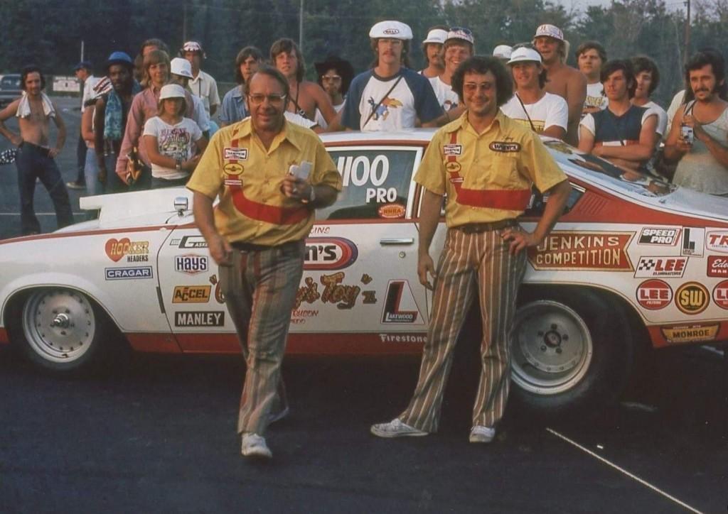 Bill Jenkins and Larry Lombardo NHRA Pro Stock Champions